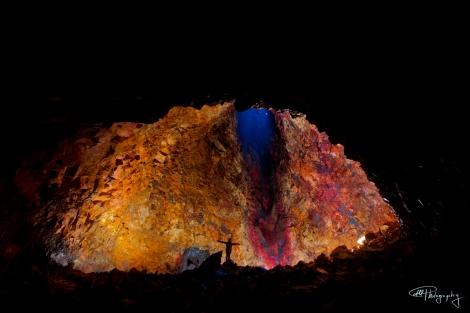 The Interior of Thrihnukagigur Volcano, Iceland