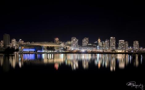Unique Vancouver Nightview