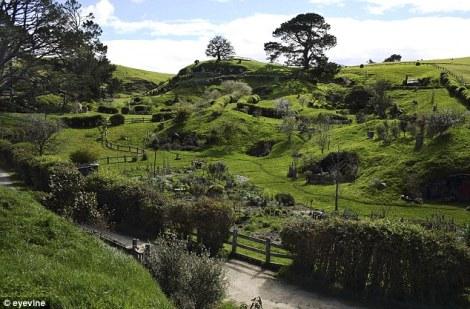 The Hobbit, Matamata Hills