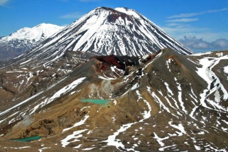 Tongariro-National-Park, Long Valley and Lonely Mountains