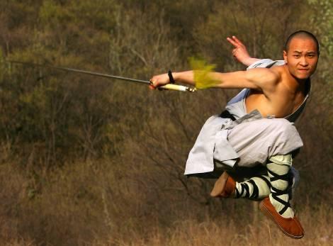 Amazing Shaolin Monk